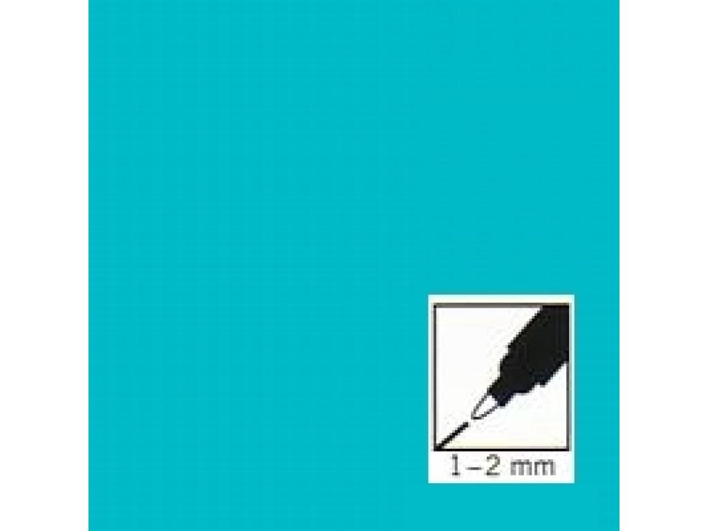 """Turkio spalvos rašiklis porceliano/stiklo dekoravimui """"Turquoise"""", 1-2mm"""