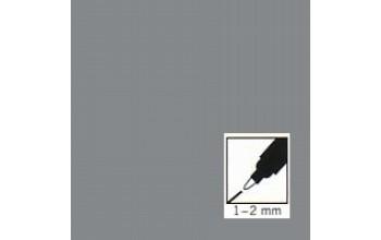 "Sidabrinis rašiklis porceliano/stiklo dekoravimui ""Metallic silver"", 1-2mm"