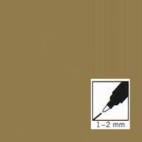 "Auksinis rašiklis porceliano/stiklo dekoravimui ""Metallic gold"", 1-2mm"