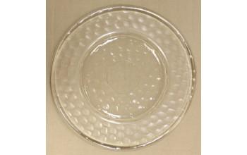 """Stiklo lėkštė """"Skrituliukai"""", 32cm"""