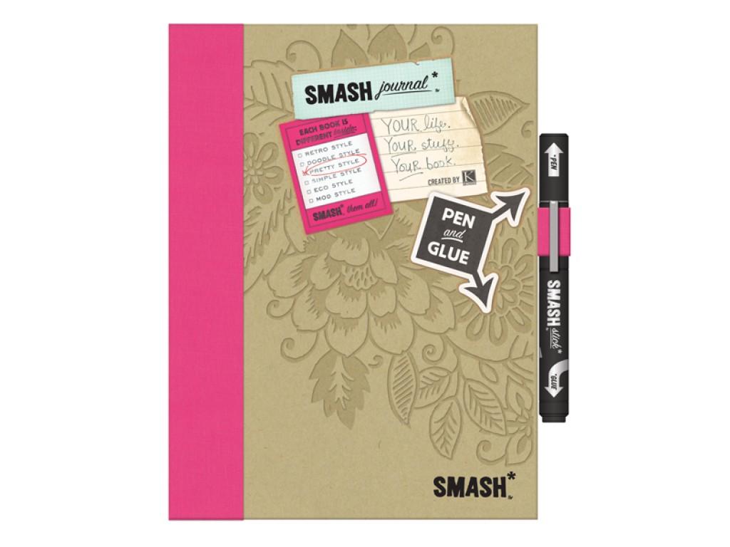 "Dienoraštis albumas ""Smash Pretty Pink folio book"""