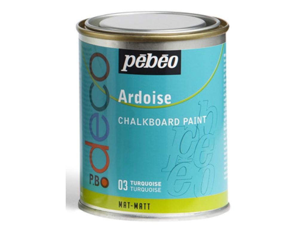 "Dažai kreidinei lentai ""Chalkboard Turquoise (turkio)"", 250ml"