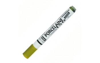 "Markeris porcelianui/stiklui ""Pebeo Porcelaine 150 Marker, Peridot green"", 0,7mm"
