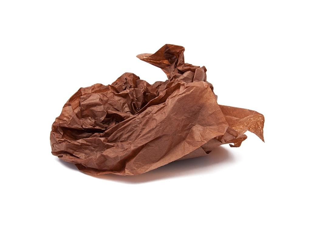 """Tissue šilko popierius """"Ruda / Brown F046"""", 40vnt."""