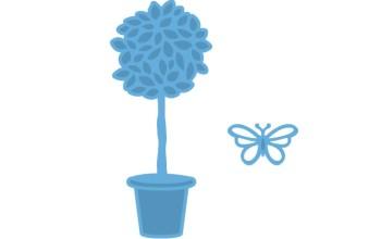 """Kirtimo ir reljefo formelė """"Creatables Topirary and Butterfly"""""""