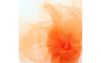 "Oranžinis tiulis ""Tulle Orange"", 1m"