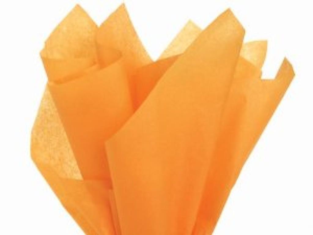 """Tissue šilko popierius """"Abrikosų /Orange"""", 25vnt."""