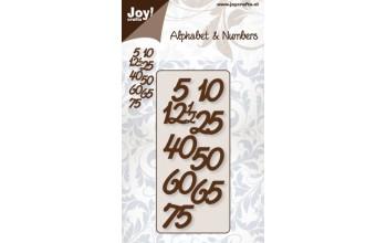 "Kirtimo formelė ""Alphabet & Numbers (C&E) anniversary figures"""