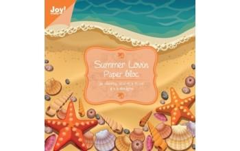 """Popieriaus rinkinys """"Summer Lovin"""" 15x15cm, 36 lapai"""