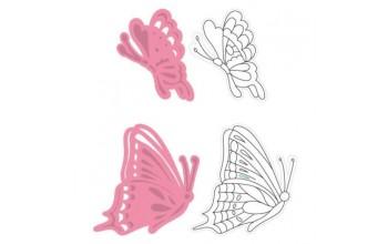 """Kirtimo ir reljefo formelė su antspaudais """"Collectables Tinys Butterflies"""""""