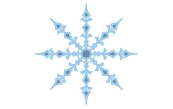 """Kirtimo ir reljefo formelė """"Ice Crystal 1"""""""