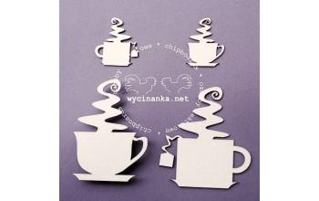 """Kartoninė formelė """"Kavos ar arbatos?"""", 4vnt."""