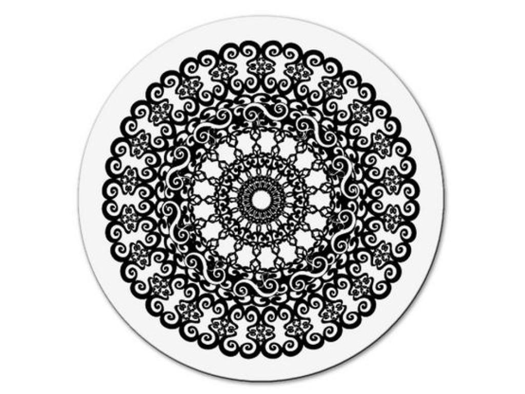 """Akriliniai antspaudukai """"Circle crochet large"""""""