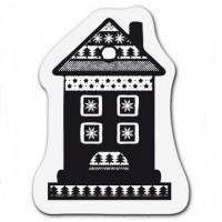 """Akriliniai antspaudukai """"Small Christmas House"""""""