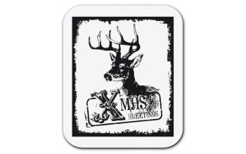 """Akriliniai antspaudukai """"Reindeer Xmas Greetings"""""""