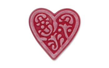"Kirtimo ir reljefo formelė ""Embosslits Die Heart lace"", 1vnt."