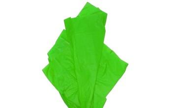 "Tissue šilko popierius ""Laimo žalia / Lime Green F034"", 50vnt."