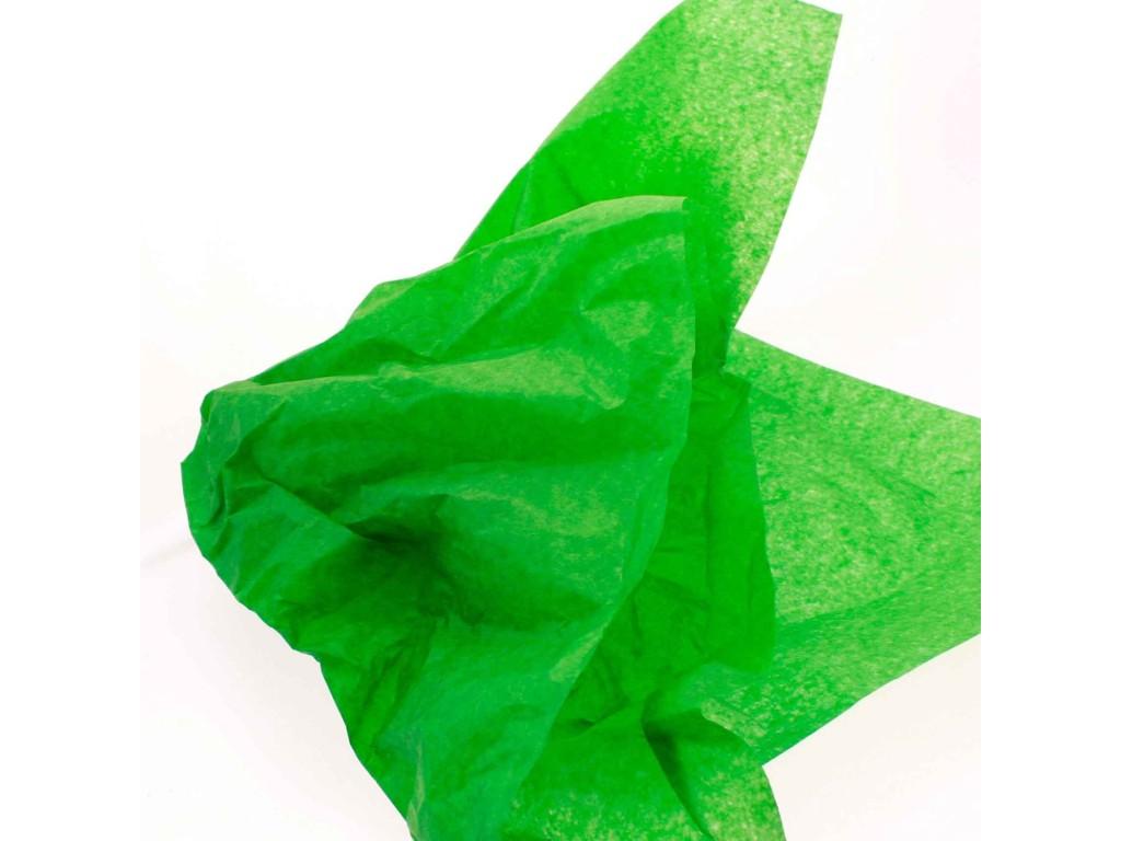 "Tissue šilko popierius ""Žalia / Green F038"", 50vnt."