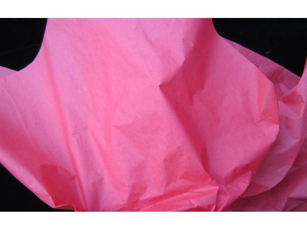 """Tissue šilko popierius """"Rožinė / Pink F010"""", 50vnt."""