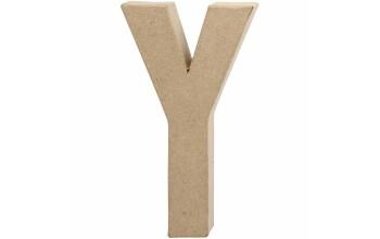 """Tūrinė kartoninė raidė dekoravimui """"Y"""", 20,5cm"""