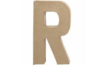 """Tūrinė kartoninė raidė dekoravimui """"R"""", 20,5cm"""