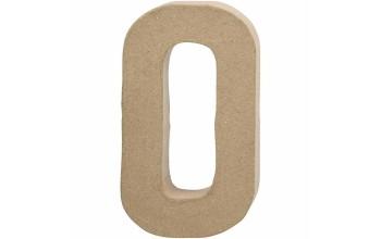 """Tūrinė kartoninė raidė dekoravimui """"O"""", 20,5cm"""