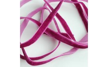 """Aksominė juostelė """"Dark Purple 0,7cm"""", 1m"""