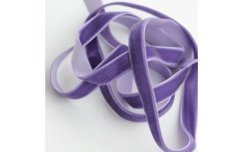 """Aksominė juostelė """"Blue violet 1cm"""", 1m"""