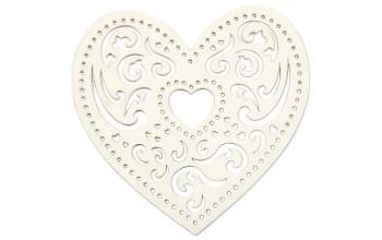 "Lazerinis karpinys ""Heart Lace"", 18vnt."