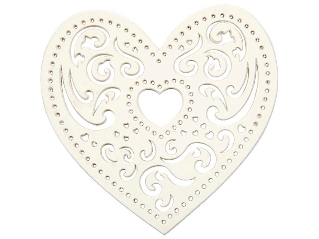 "Lazerinis karpinys ""Heart Lace"", 1vnt."
