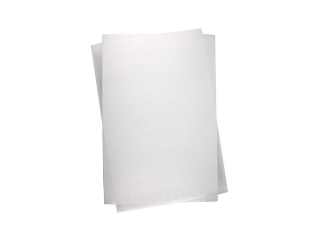 "Susitraukiantis plastikas ""Shrink Plastic Sheet Matt Transparent"", 1vnt."