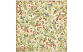 "Popierius ""K&Company: Floral Berries"""