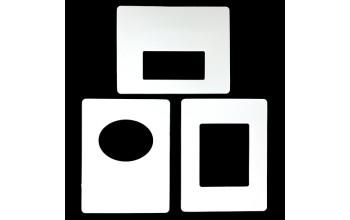 """Rėmelis reljefinei formelei """"Easy Frames-3"""", 3vnt."""
