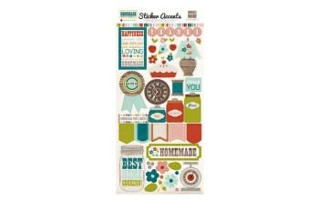 "Lipdukai ""Echopark: Homemade Collection - Stickers"""