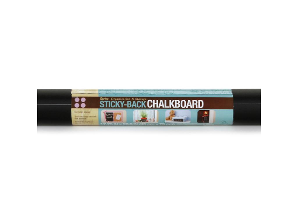 """Lipnus kreidinis popierius su valikliu """"Sticky-Back Chalkboard"""""""