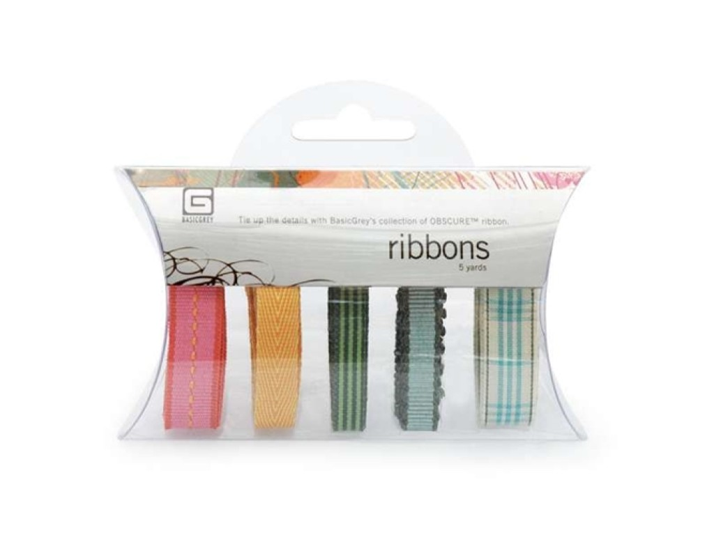 """Juostelių rinkinys """"Obscure ribbons"""", 5vnt."""