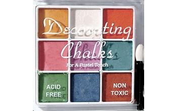 """Kreidiniai dažai """"Pearl Chalk Colours Kit-1"""""""