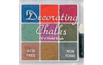 "Kreidiniai dažai ""Glimmer Chalk Colours Kit-2"""