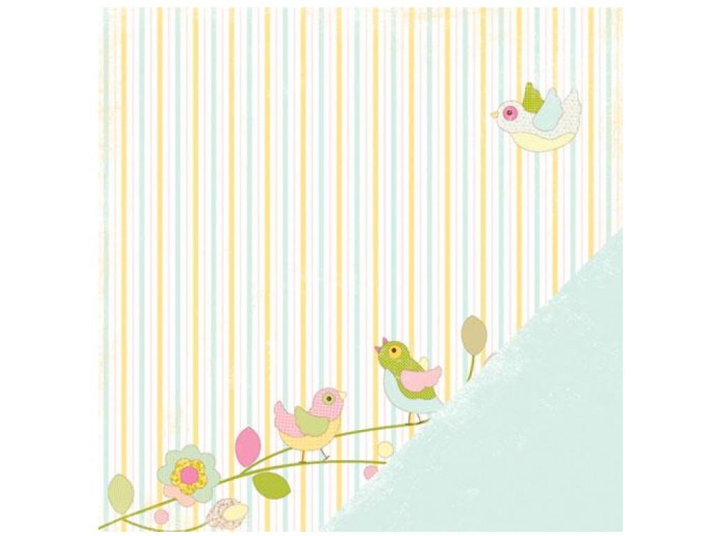 """Popierius """"Making Memories: DILLY DALLY - Birds"""""""