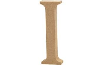 """Tūrinė medinė raidė dekoravimui """"I"""", 13cm"""