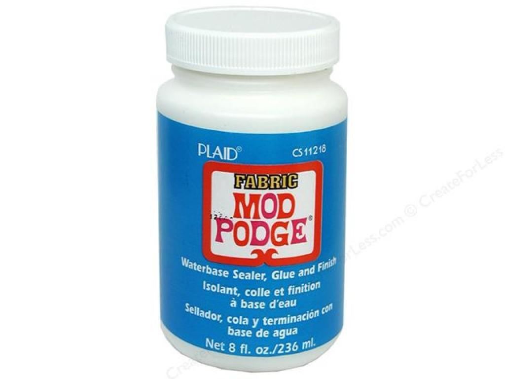 "Mediumas/klijai tekstilei ""Mod Podge Fabric"", 236ml"