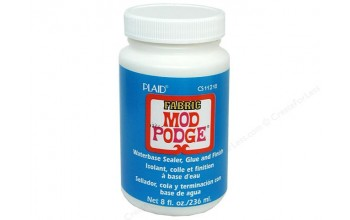 "Mediumas/klijai tekstilei ""Mod Podge Fabric"", 236ml"