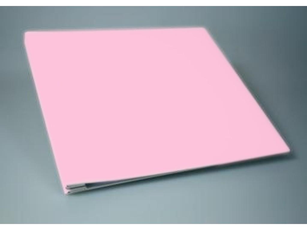 """Albumas aptrauktas audiniu """"Baby Pink"""" 30,5x30,5cm"""