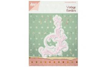 """Kirtimo ir reljefo formelė """"Vintage Borders: Swirl"""""""