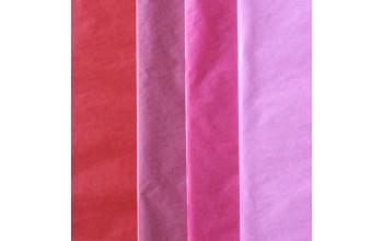 "Tissue šilko popieriaus rinkinys ""Assorti Colours Red"", 40vnt."