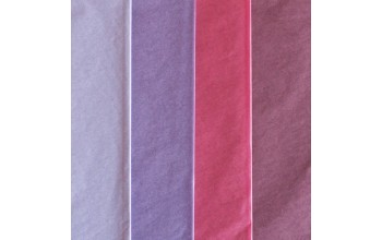 "Tissue šilko popieriaus rinkinys ""Assorti Colours Violet"", 40vnt."