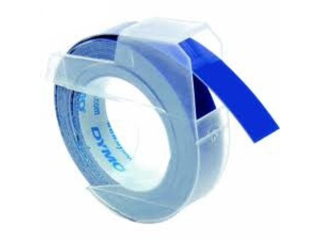 Juostelė mechaniniam etikečių spausdintuvui: Mėlyna, 3m