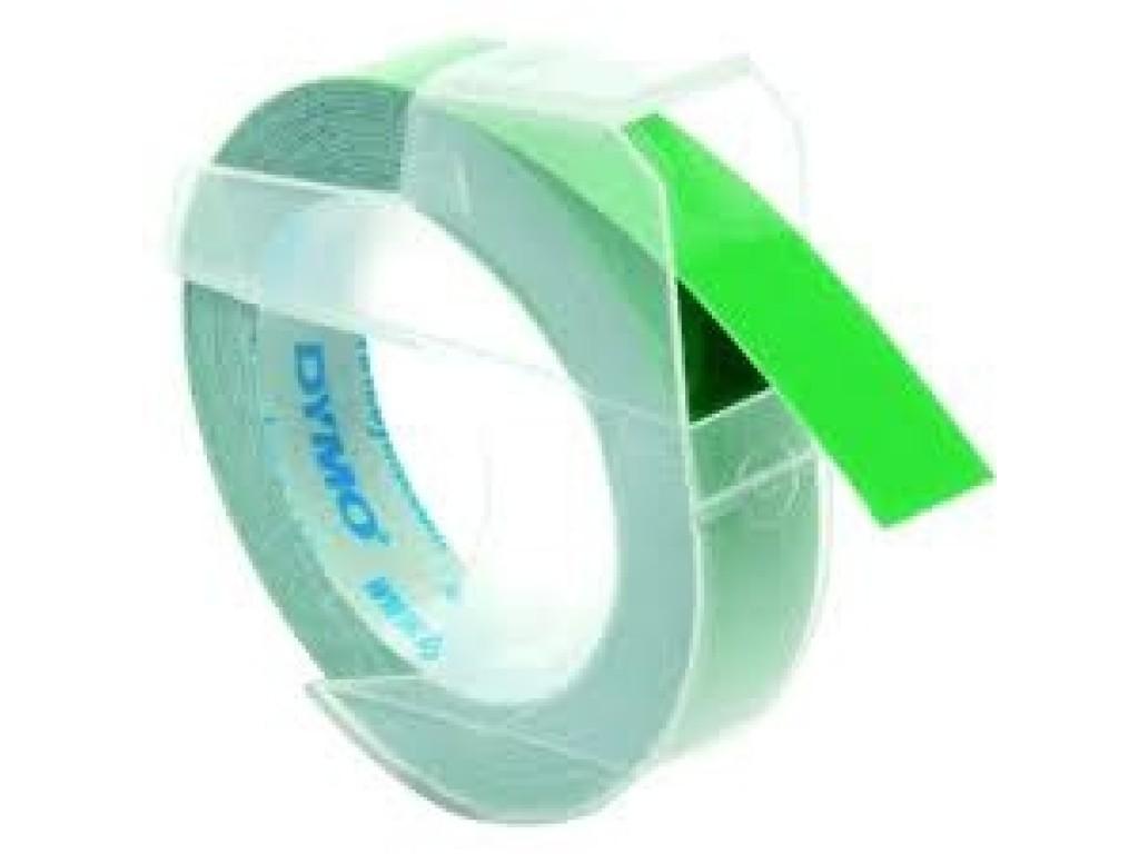 Juostelė mechaniniam etikečių spausdintuvui: Žalia, 3m