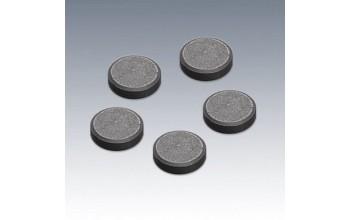 "Magnetukų rinkinys ""Scheibenmagnet"", 14mm, 10vnt."