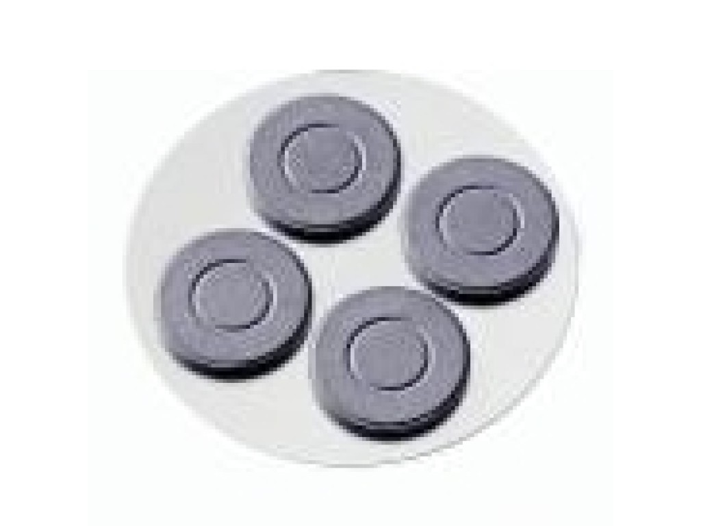 "Magnetukų rinkinys ""Scheibenmagnet"", 25mm, 4vnt."